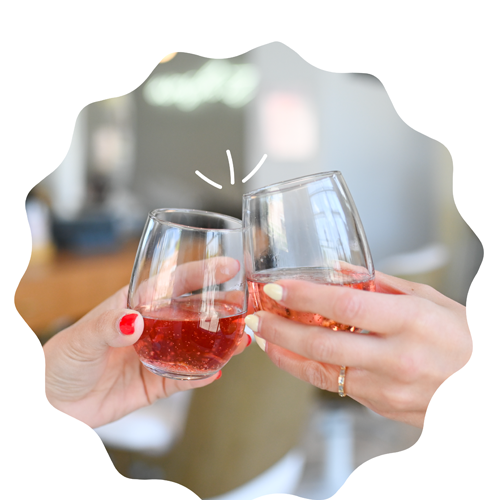 BIG News We're now serving wine & champagne at our Grandview location!